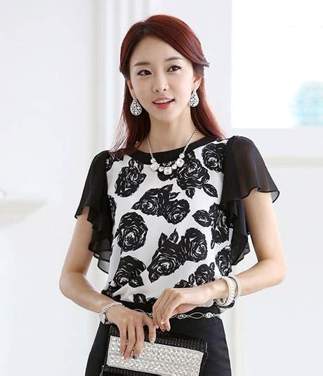 Sepatu Led Fashion Black Import chiffon blouse bl2995 black tamochi