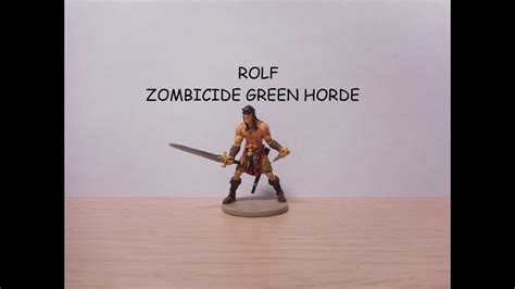 Painting Zombicide Green Horde by Painting Rolf Zombicide Green Horde