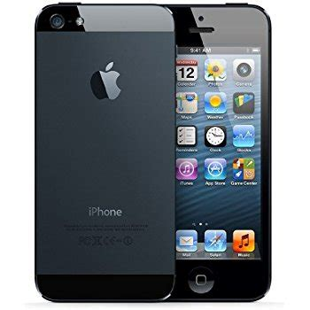 amazon com apple iphone 5 16gb unlocked cellphone black