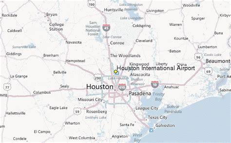 texas airport map houston international airport weather station record historical weather for houston