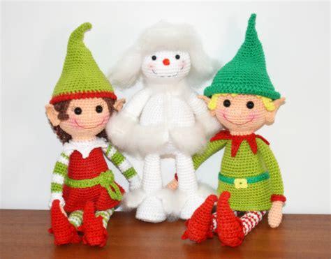 pattern for christmas elf christmas elves pattern amigurumibb s blog