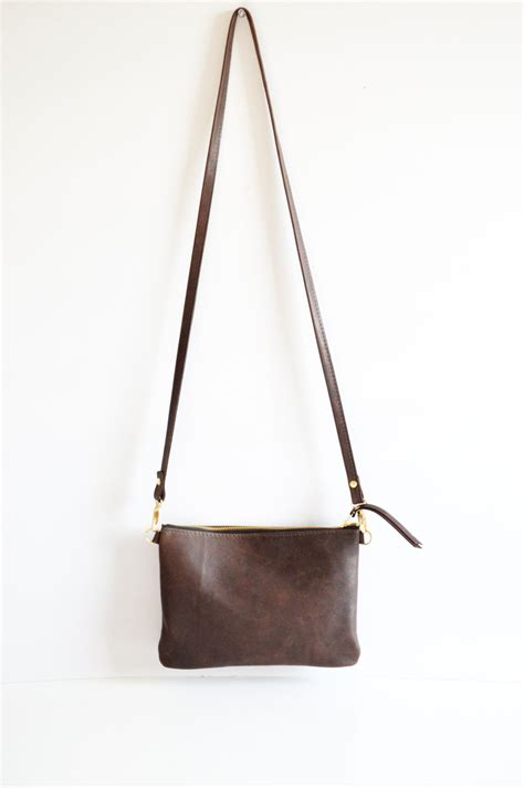 leather crossbody bag minimalist bag small leather bag