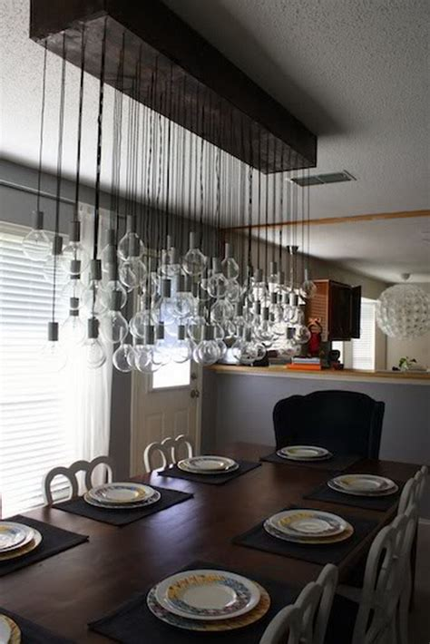 25 Fantastic Diy Chandelier Ideas And Tutorials Hative Diy Dining Room Lighting Ideas