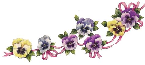 theme line vintage flower free vintage flower border cliparts co