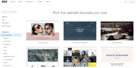 10 Wix Websites Exles We Adore 2018 Buildthis Io Wix Web Templates