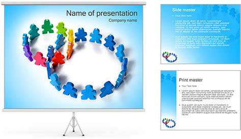 Two Team Squares Powerpoint Template Backgrounds Id Squares Powerpoint Template 2
