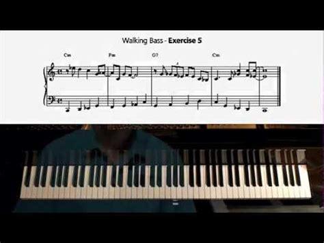 tutorial walking bass 꼬부랑할머니 재즈버젼 스윙 재즈반주 워킹베이스 doovi