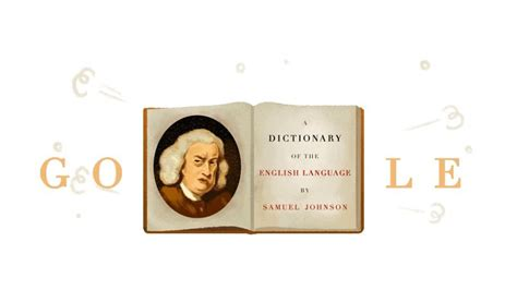 doodle meaning synonyms doodle celebrates 308th birthday of samuel johnson