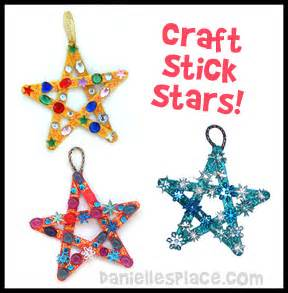 craft stick star bible craft for sunday school from www