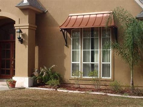 awnings  windows  copper juliet awning door