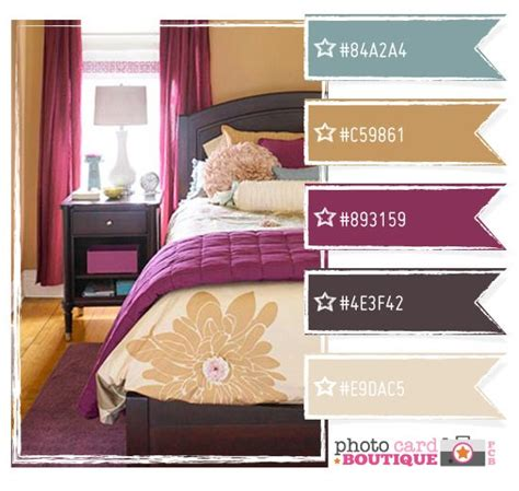 purple and grey color palette for the guest room click master bedroom the walls are already the blue grey color