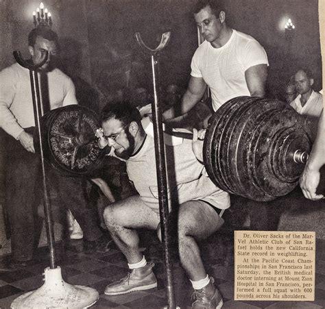lamar gant bench press the bodybuilder oliver sacks days on muscle beach