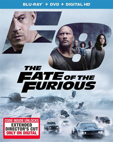 fast and furious 8 blu ray the fate of the furious dvd release date july 11 2017