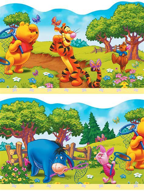 winnie the pooh schlafzimmer kinderzimmer bord 252 re winnie pooh tapetenwelt