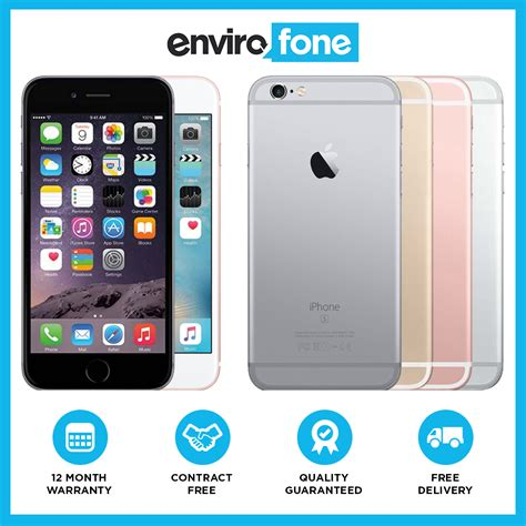 apple iphone 6s 16gb 32gb 64gb 128gb unlocked sim free smartphone ebay