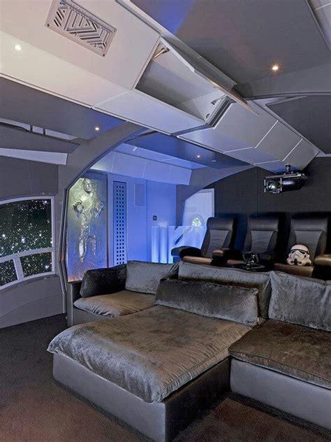star wars themed home theater basement ideas pinterest