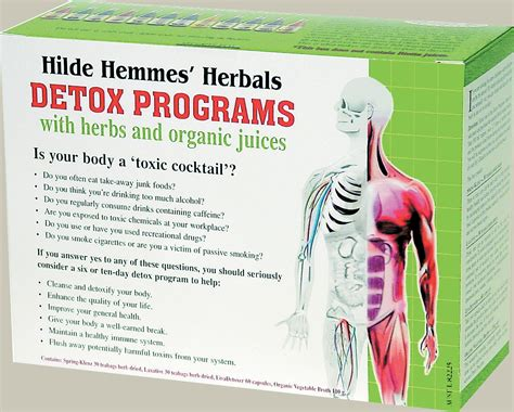 Why Are Sent To Detox Programs by Hilde Hemmes Herbals Detox Programs