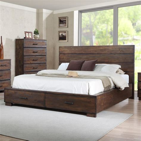 del sol cm cranston king  profile bed  footboard