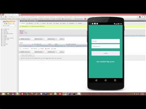 tutorial login android studio android studio tutorial login and register part 1 user