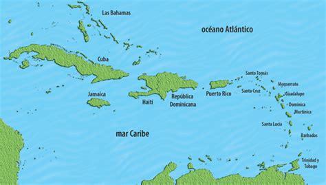 imagenes satelitales mar caribe mapa de las antillas mayores pa 237 ses y capitales america