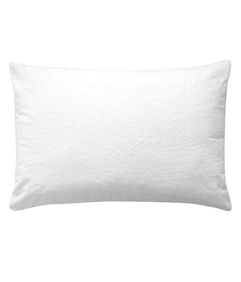 Waterproof Pillows trance waterproof pillow protector white buy trance