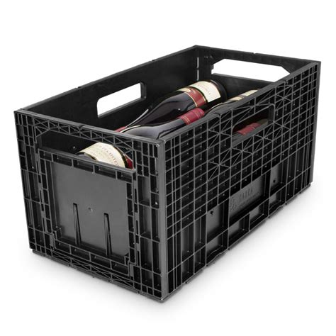 Storage Boxes Bottles Set A cabka wine box set of 12 144 bottle capacity 12 bottles per box wine racks uk wine rack