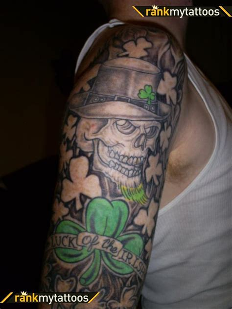 irish themed tattoo designs 27 tattoos on sleeve