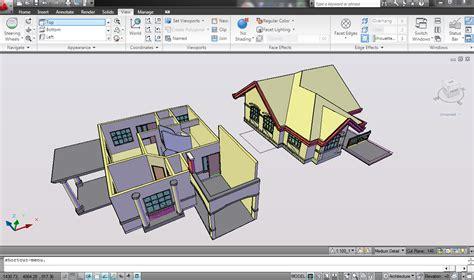 tutorial menggambar rumah 3d dengan autocad tutorial cepat modelling 3d rumah 2 lantai dengan autocad