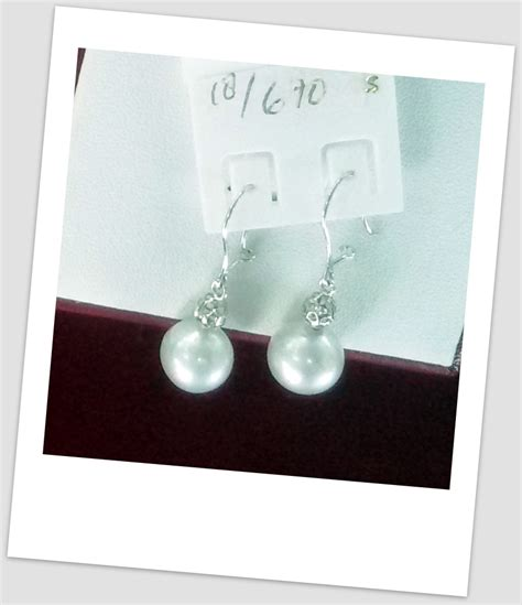 Anting Ear Ring Pearl anting mutiara emas 0075 south sea pearl necklace price pearl wholesale gold jewelry handmade