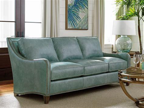 Aqua Leather Sofa Palms Koko Aqua Leather Sofa 01 Ll7212 33 73 Bahama