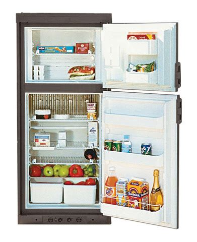 comparison chart caravan and motorhome refrigeration