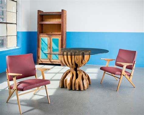 brazilian furniture r company presents rare furniture pieces by jose zanine