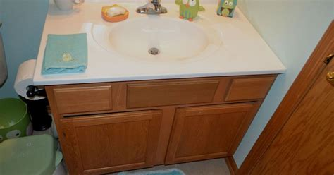 How To Replace Bathroom Vanity 11 Low Cost Ways To Replace Or Redo A Hideous Bathroom Vanity Hometalk