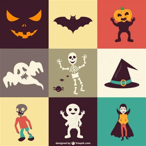 descargar imagenes de halloween gratis conjunto de iconos para halloween descargar vectores gratis