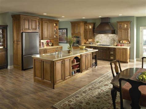 kitchen color ideas with light oak cabinets trends