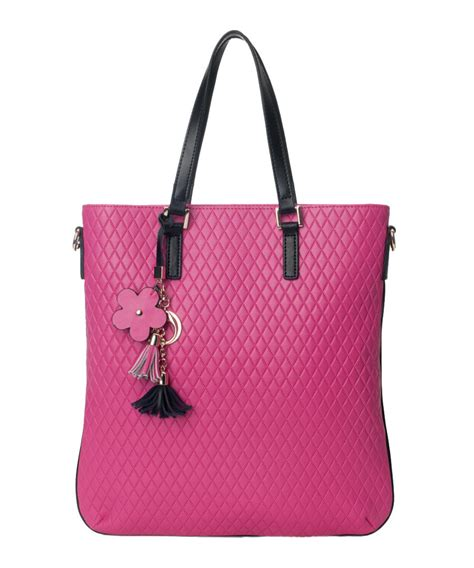 Extravagant New Season Designer Bags by Cannci Quilted Leather Shopper Bag Designer Bags