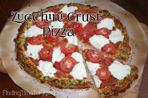 carbohydrates 14g zucchini crust low carb pizza recipe finding time to fly