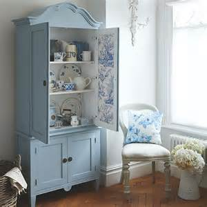 armoire for room blue and white country dining room with armoire dining