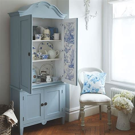 dining room armoire blue and white country dining room with armoire dining room decorating housetohome co uk