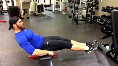 weighted bench crunch v sit crunches on bench youtube