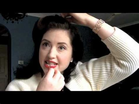 you tub swing hair styles simple 1940 day time hairdo youtube
