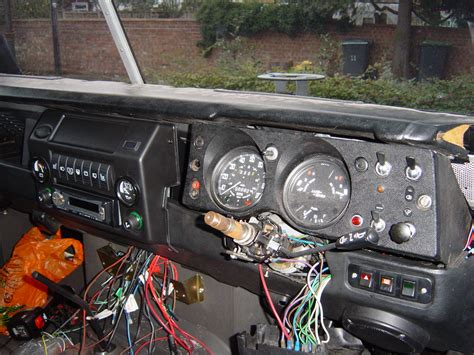 land rover owner view topic standard series 3 dash layout