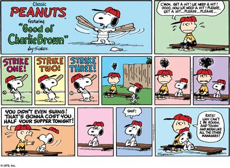 Komik Kolpri Our Field Of No32 peanuts comic sunday comics 17 april 2005