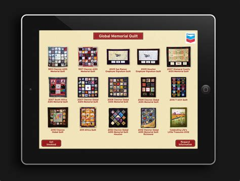 Quilt Apps by Displayworks Digital Media Team Digitizes Chevron Aids Quilts Displayworks Trade Show