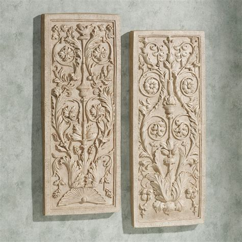 home decor wall plaques charis wall plaque set
