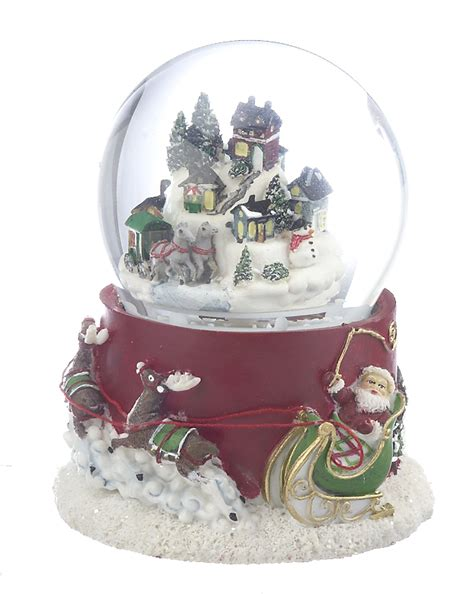 large village snow globe christmas ornament other