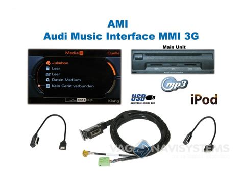 Ami Set by Ami Audi Interface Retrofit Set Audi Mmi 3g Q5