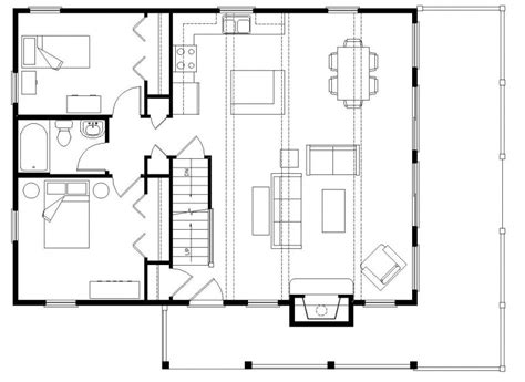 open log home floor plans open floor plans small home open floor plans with loft