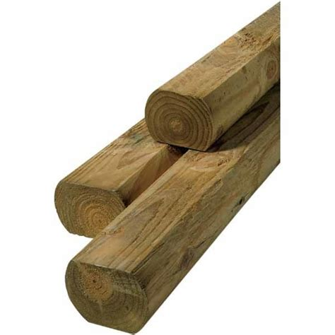 Landscape Timbers At Lowes Landscape Timber Common 3 X 4 Actual 2 62 In X 3 66 In