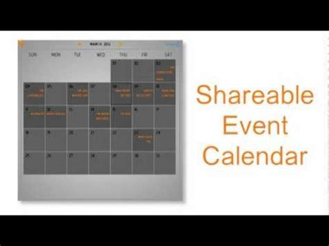 Discover, promote and share events going on in your region